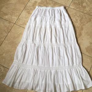 Michael Kors Gorgeous! Gauzy cotton flared skirt